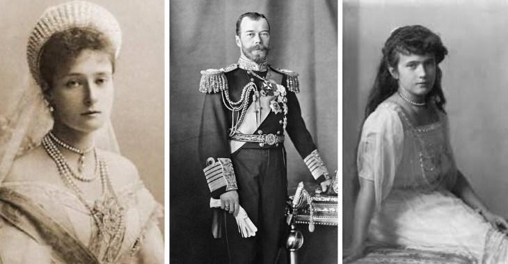 La famiglia Romanov