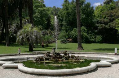 Orto Botanico Roma: fontana del Tritone