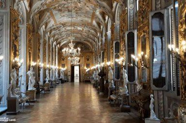 Palazzo Doria Pamphili, la Galleria degli Specchi