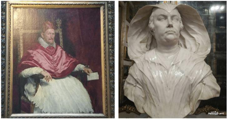 Galleria Doria Pamphili: il ritratto di Innocenzo X e il busto di Olimpia
