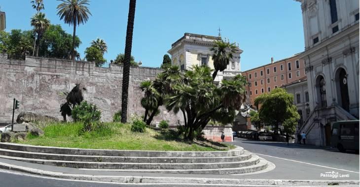 Largo Magnanapoli a Roma