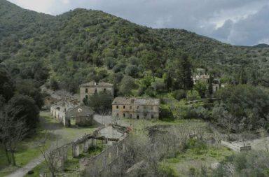 Miniera di Monte Narba a San Vito in Sardegna
