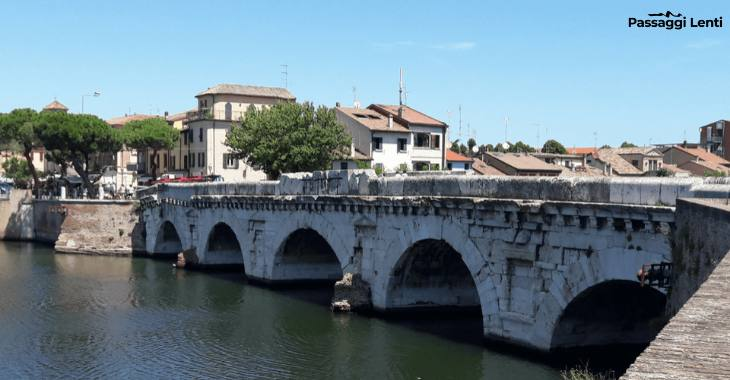 Rimini. Ponte Tiberio