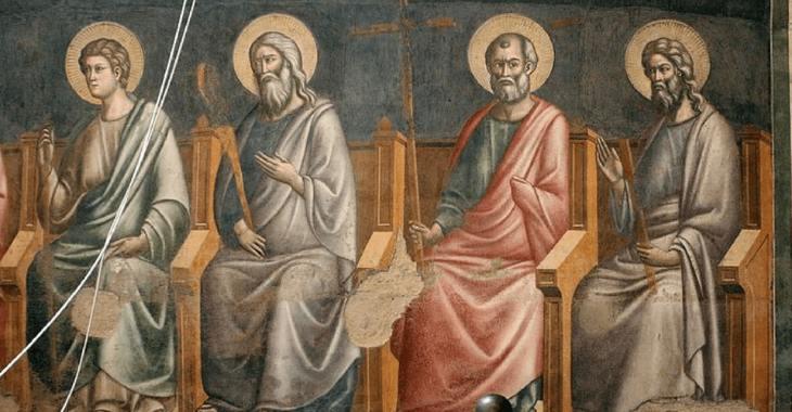S. Cecilia in Trastevere - Il Giudizio Universale di Pietro Cavallini