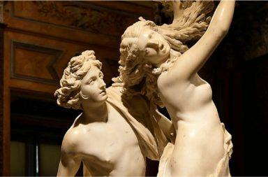 Apollo e Dafne di Gian Lorenzo Bernini - particolare