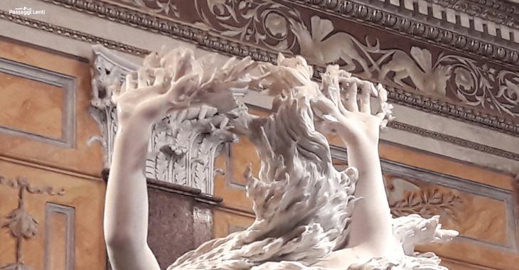 Bernini, Apollo e Dafne - particolare