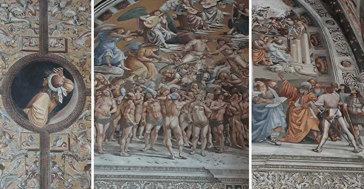 Orvieto, cappella di San Brizio