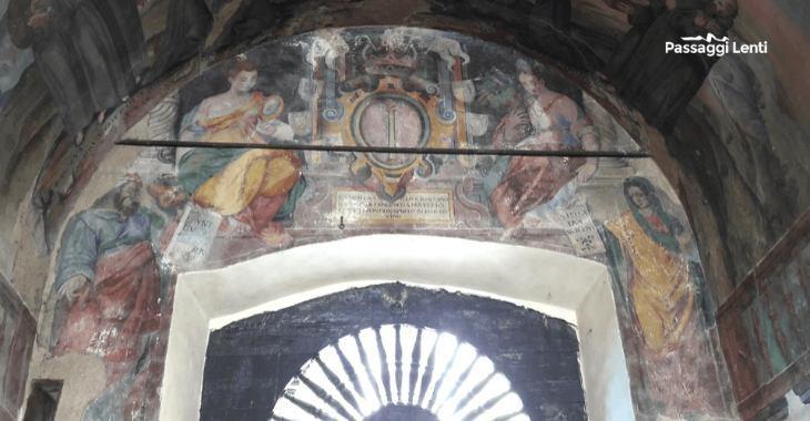 Tagliacozzo, affreschi nella Chiesa di S. Francesco