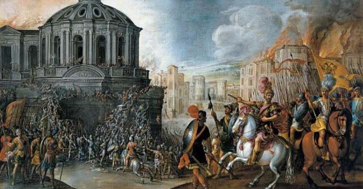 Lanzichenecchi Sacco di Roma