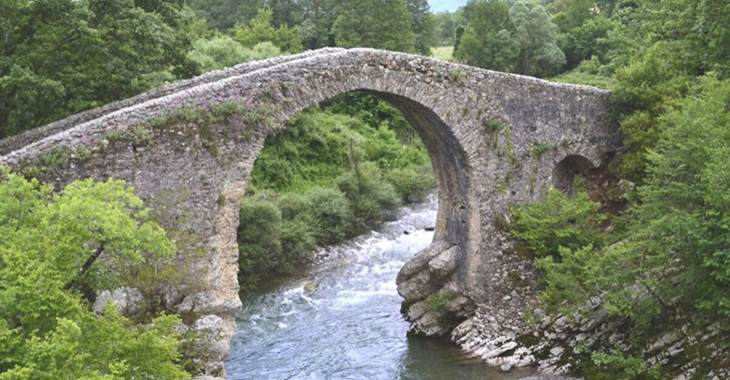 Le Gole del Calore: il ponte medievale