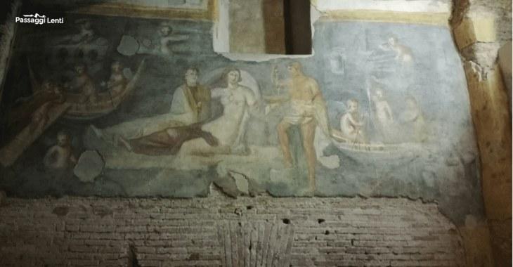 Case romane del Celio: il Ninfeo