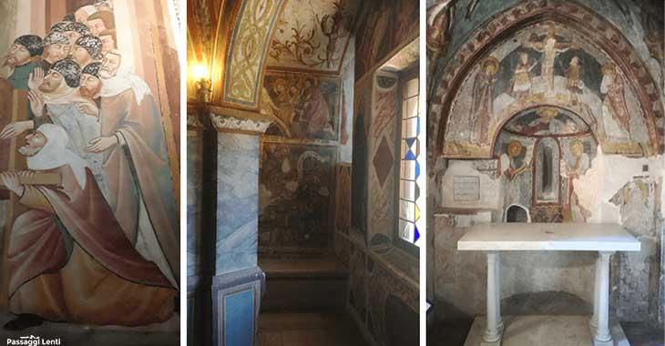 Monastero di San Benedetto a Subiaco, interni