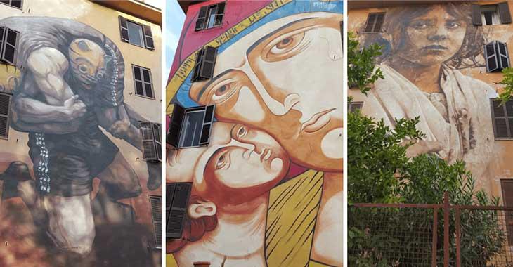 Murales a Tor Marancia