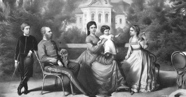 Sissi e la sua famiglia