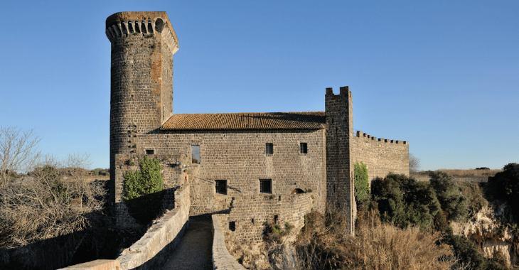 Vulci. Castello dell'Abbadia