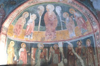 Chiesa di Santa Passera: gli affreschi