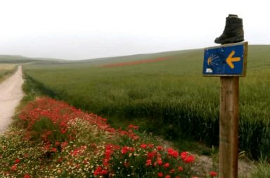 Regione Rioja lungo il Cammino Francese verso Santiago