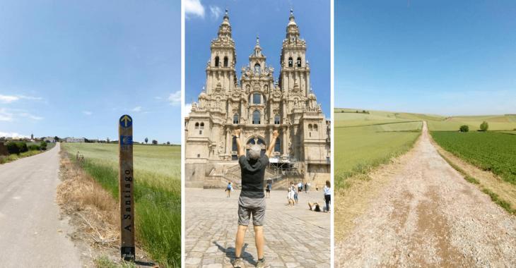 Cammino Francese: l'arrivo a Santiago di Compostela