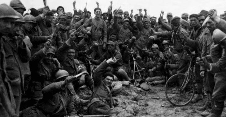 Fine della prima guerra mondiale