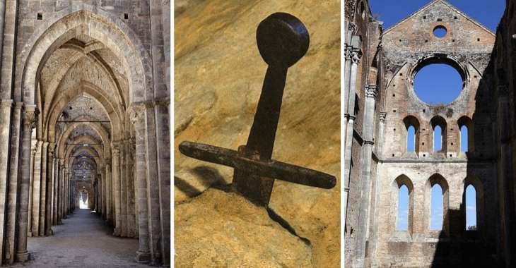 L'abbazia di San Galgano e la spada nella roccia