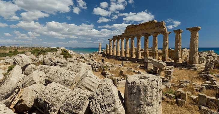 Selinunte in Sicilia