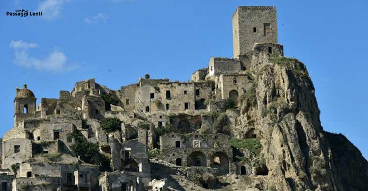 Craco paese fantasma in Basilicata