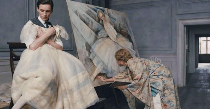 """Lili Elbe nella splendida interpretazione di Eddie Redmayne nel film """"The danish girl"""""""