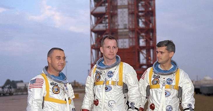 Gli astronauti dell'Apollo I