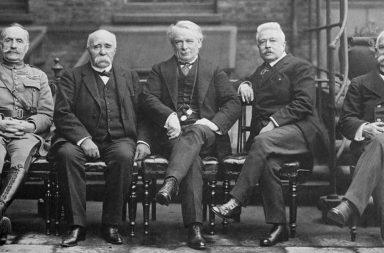 I protagonisti della conferenza di Parigi del 1919