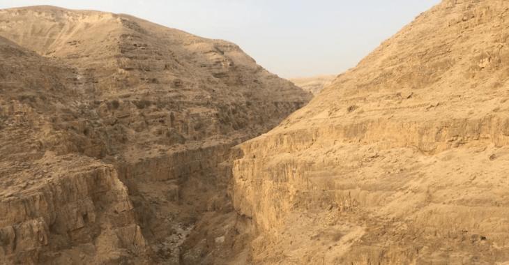 Trekking in Terra Santa: Wadi Qelt