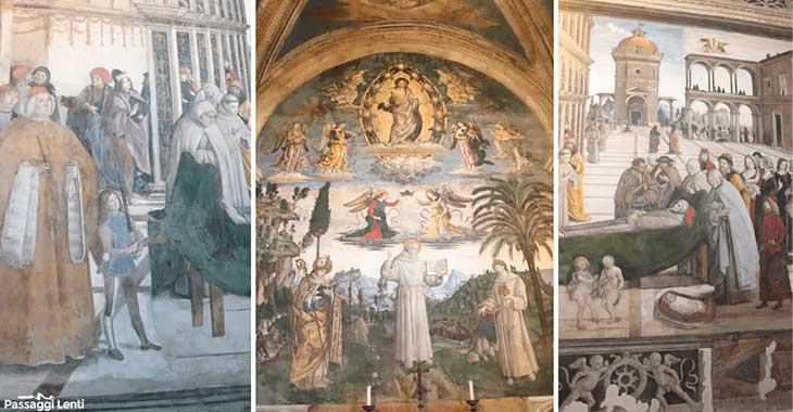 Cappella Bufalini di Pinturicchio in Santa Maria in Aracoeli
