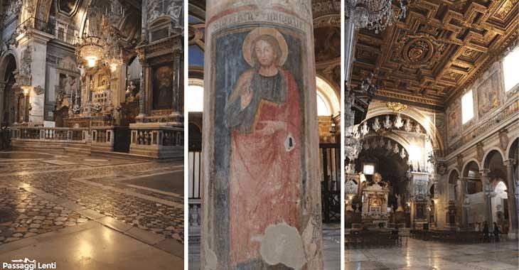 Santa Maria in Aracoeli. Interno della Basilica