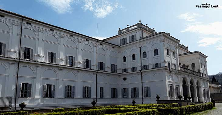 L'esterno di Villa Falconieri a Frascati
