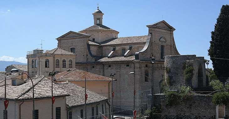 Montefalco. Chiesa di Santa Chiara