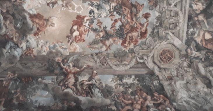Il soffitto affrescato da Pietro da Cortona a Palazzo Barberini
