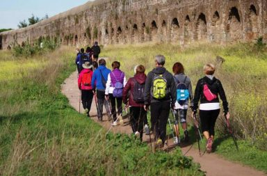 Via Francigena del Sud. Il Parco dell'Appia Antica