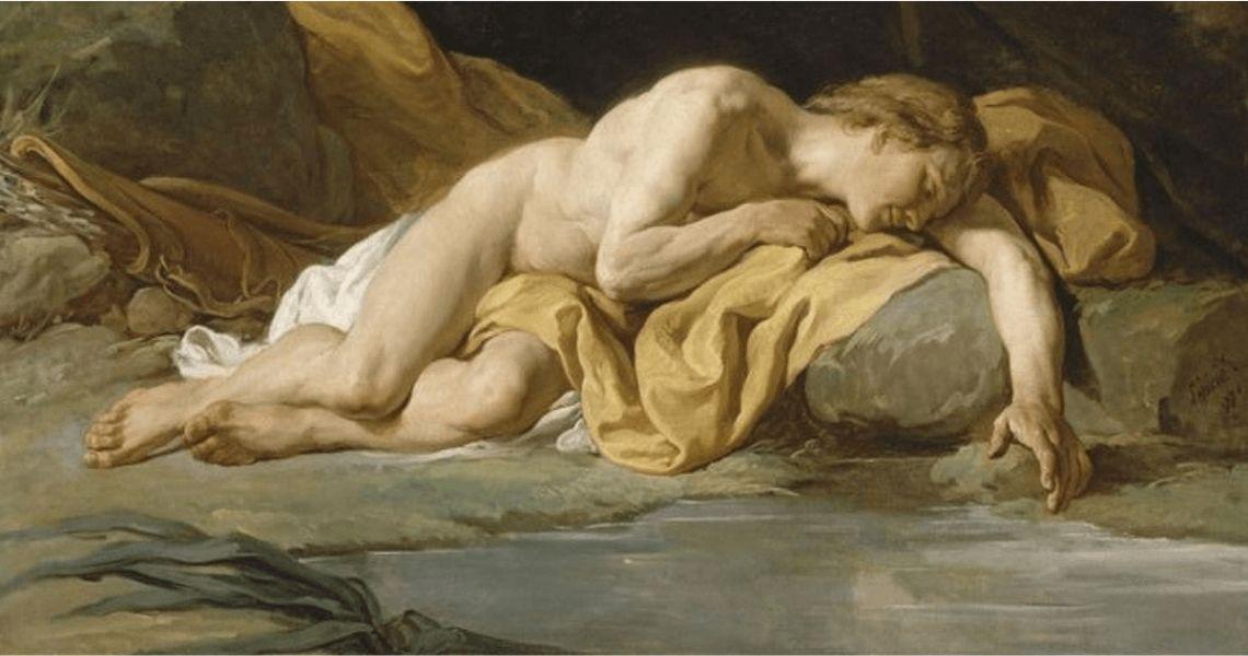 Nicolas-Bernard Lépicié, Narcisse, 1771