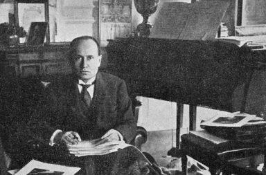 Benito Mussolini in una foto del 1925
