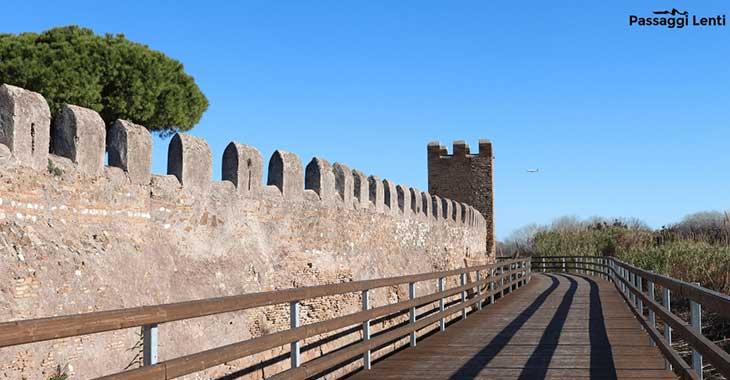 Pista ciclabile di Fiumicino da Parco Leonardo a Porto