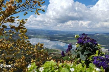 Civitella del Lago: vista sul lago di Corbara