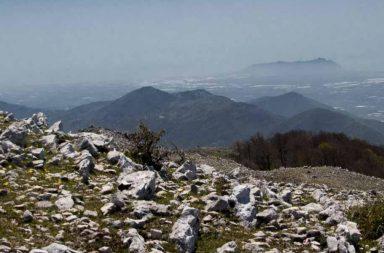 Il panorama dalla vetta di Monte Lupone a Segni