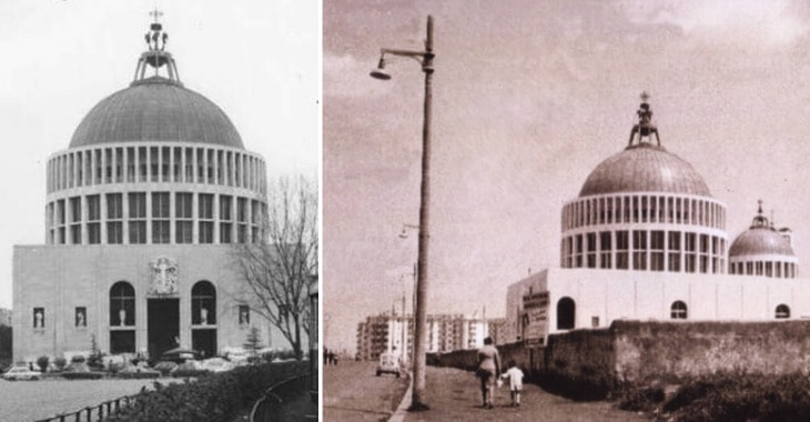 La Cupola della Chiesa di Don Bosco