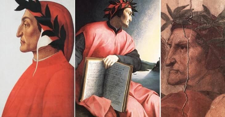I ritratti di Dante Alighieri realizzati da Botticelli, Bronzino e Raffaello