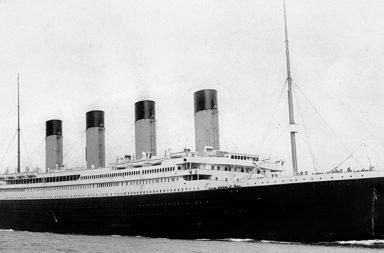 Titanic, la partenza da Southampton il 10 Aprile 1912