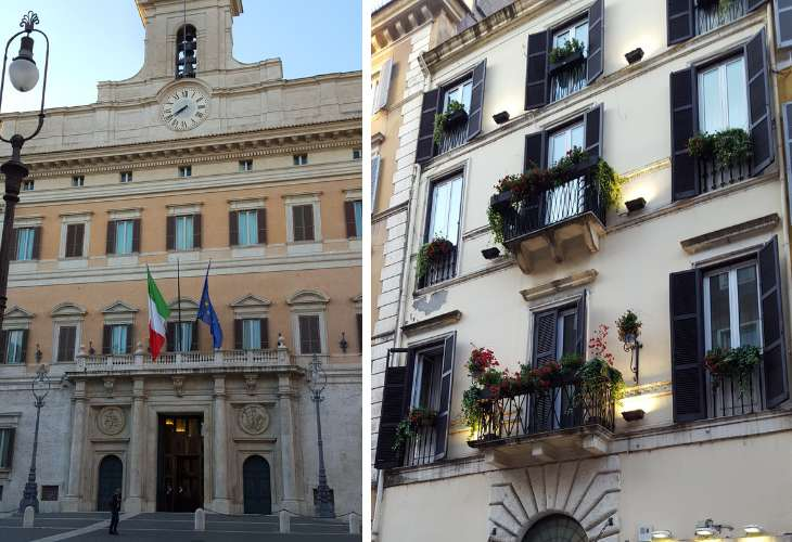 Balconi storici di Roma