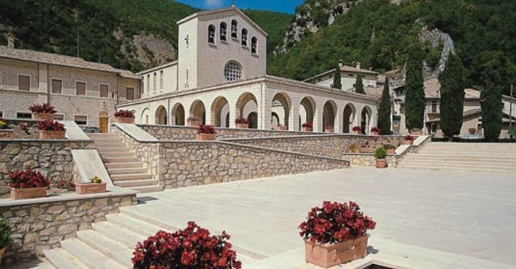 Cascia. Il santuario di Santa Rita