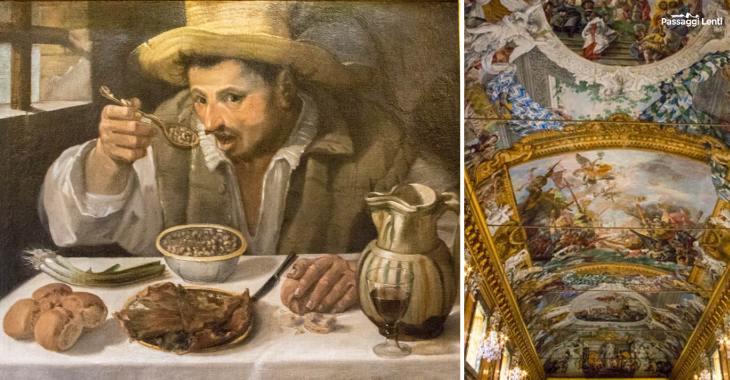 """""""Il mangiafagioli"""", di Annibale Carracci alla Galleria Colonna"""