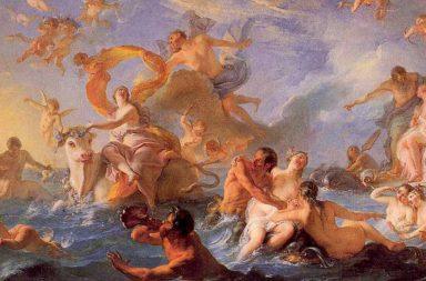 Mito di Europa, il rapimento da parte di Zeus