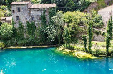 Stifone e il fiume Nera in Umbria