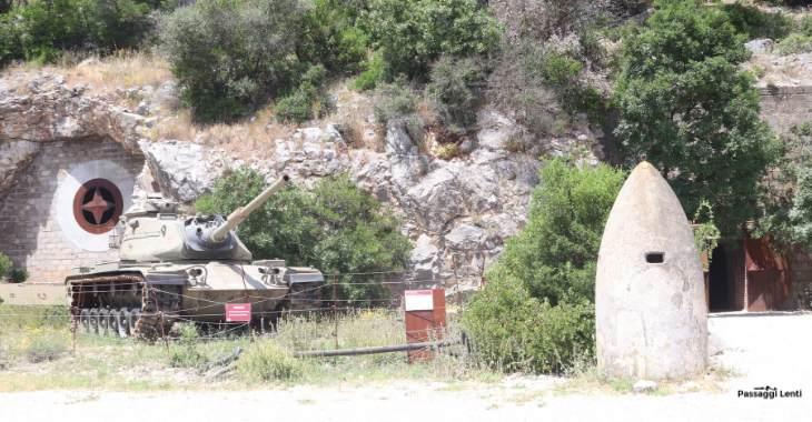 L'ingresso del Bunker Soratte